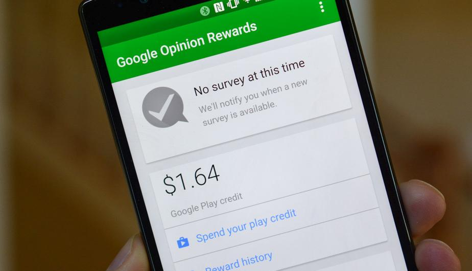 Google opinion Rewards. (Foto: Captura)