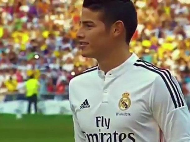 James Rodríguez se despide del Real Madrid y sus hinchas con sorpresivo video