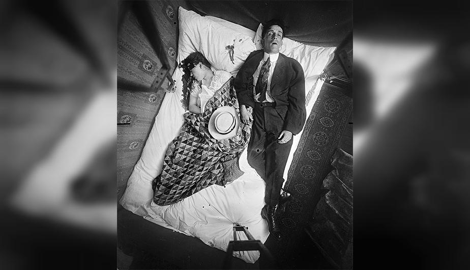 Un doble homicidio en New York en 1910. (Foto: NYC Municipal Archives)