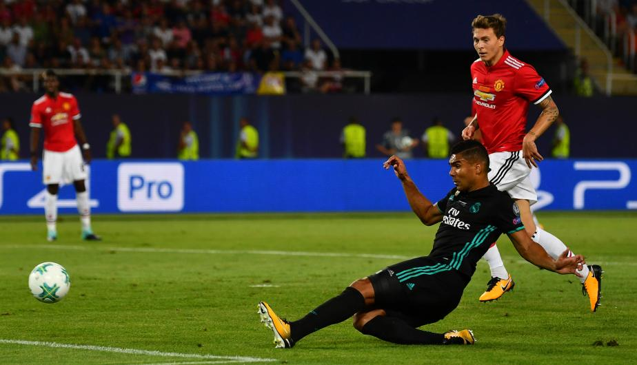 Real Madrid logró superar al Manchester United en la final de la Supercopa de Europa. (Foto: Getty Images)