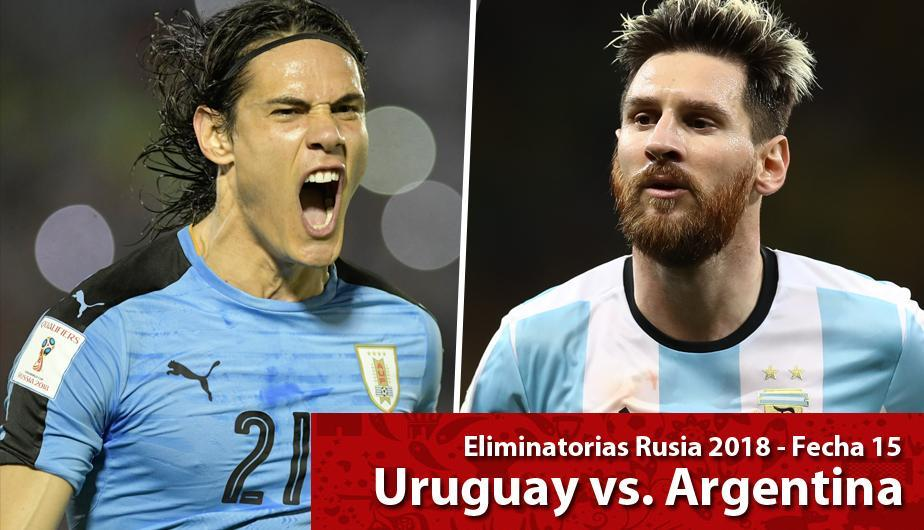 Uruguay vs Argentina EN VIVO LINK 100% REAL por las Eliminatorias al Mundial Rusia 2018. (Foto: Getty Images)