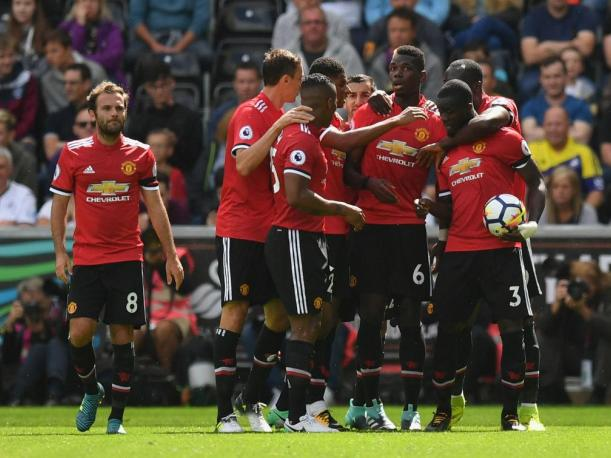 Manchester United igualó ante Stoke City por la Premier League