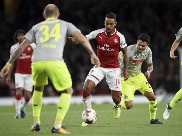 Arsenal logró imponerse al Colonia por la Europa League
