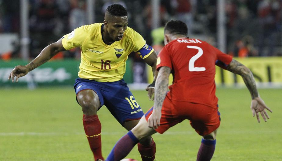 Antonio Valencia de Ecuador (defensa)| Foto: Getty