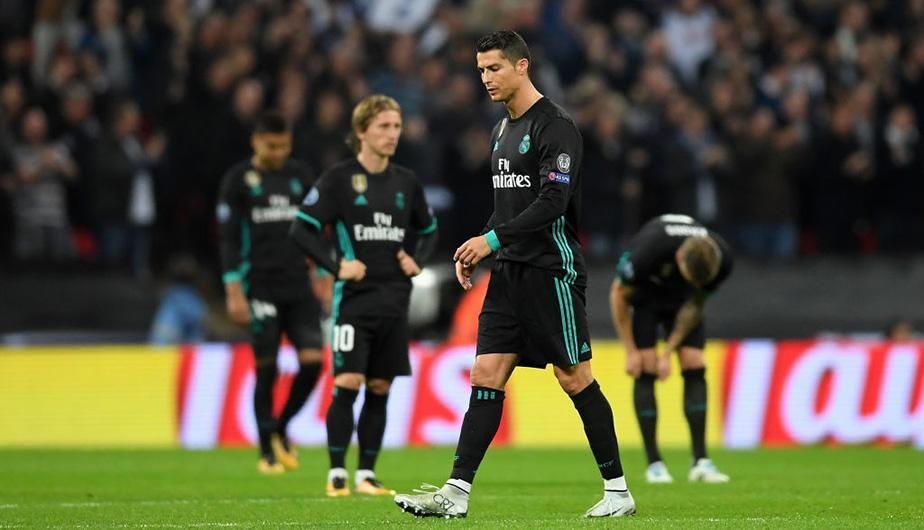 Tottenham deja en evidencia al Real Madrid y lo derrota por la Champions League en Wembley. (Foto: Getty Images)