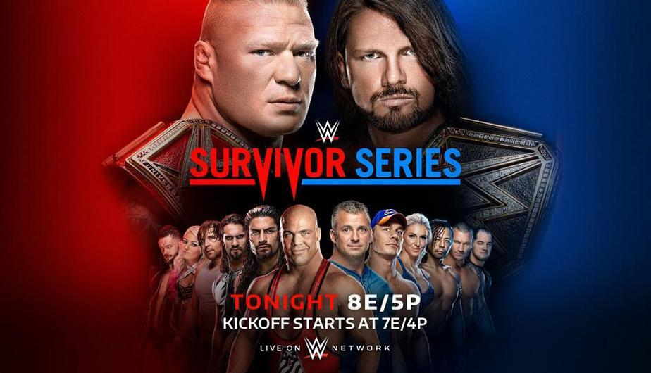 Raw venció a Smackdown en el Survivor Series de la WWE