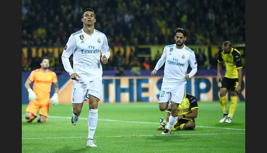 Real Madrid vs Borussia Dortmund, UEFA Champions League — Partido en vivo