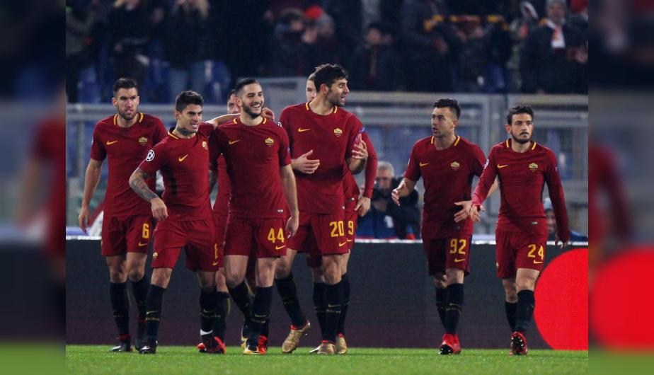 Roma hizo la tarea ante Qarabag y pasó a octavos de final de la Champions League. (Foto: Getty Images)