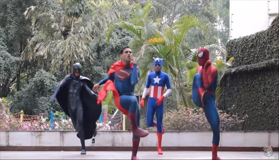 YouTube Video Viral: divertida secuencia de superhéroes se volvió popular. (foto: Viralhog)