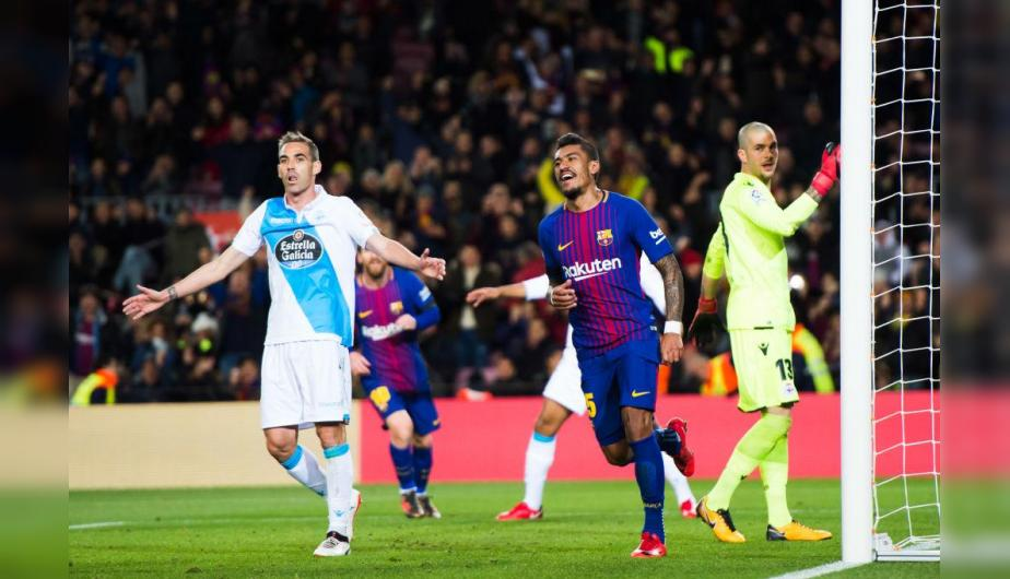 Barcelona casi no tuvo problemas para superar al Depor. (Foto: Getty Images)