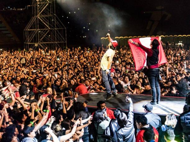 Green Day recuerda su paso por Lima con este video en Facebook