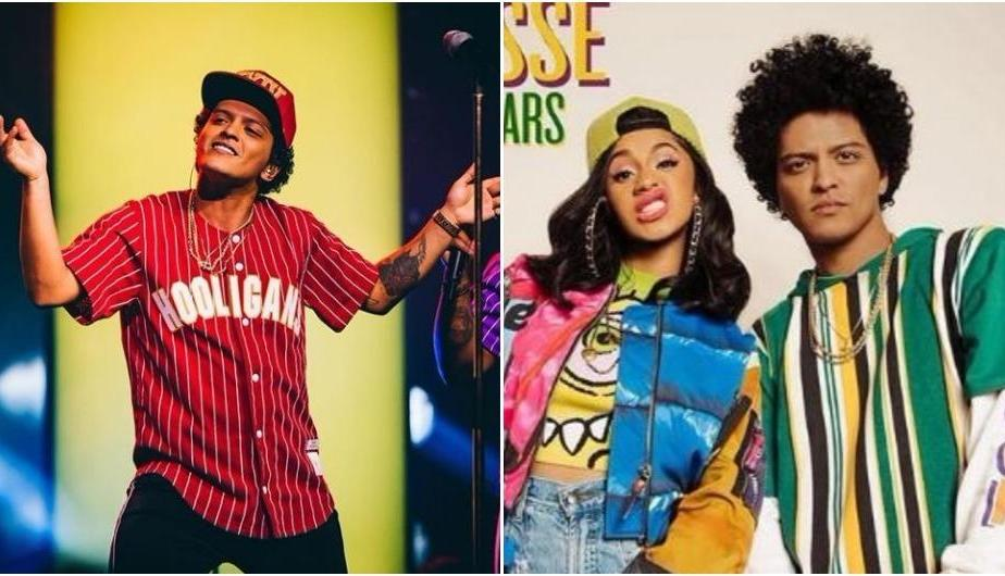 "Bruno Mars es ""El príncipe del rap"" en video de ""Finesse"" con Cardi B (Video: YouTube)"