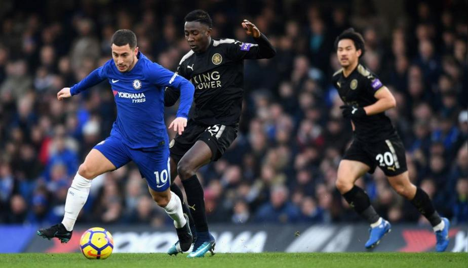 Chelsea vs Leicester City se enfrentaron en Stamford Bridge por la Premier League. (Foto: Getty Images)