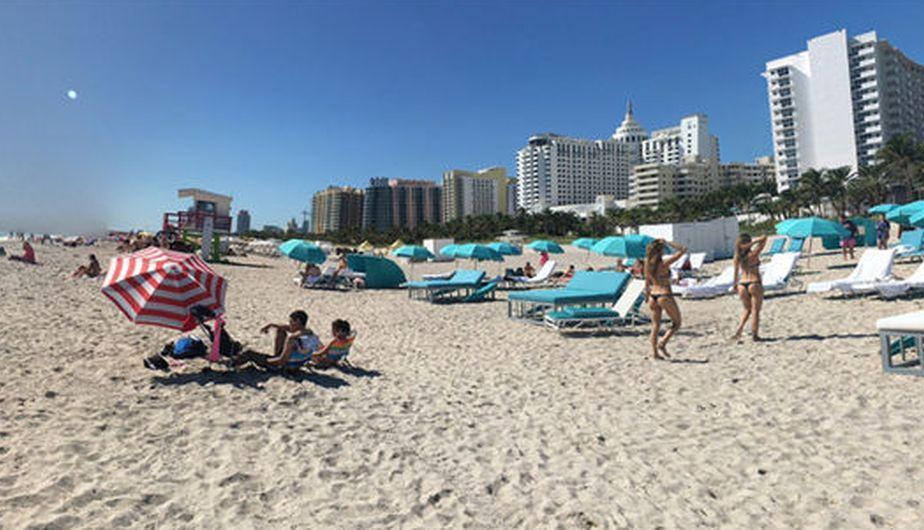 Google Maps Usa Busco Las Playas De Miami Beach Y Vio Algo Que Lo