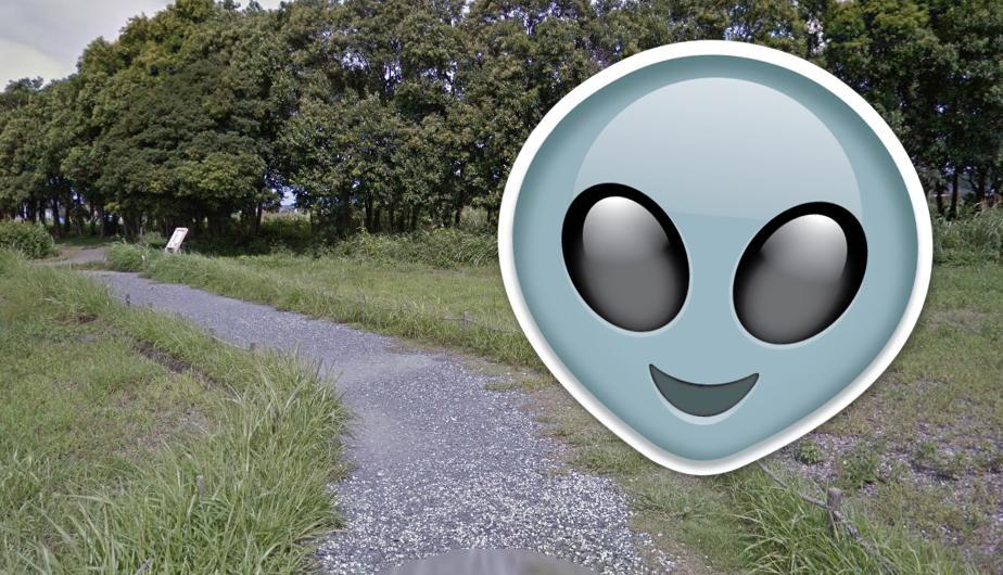 extraterrestre google map