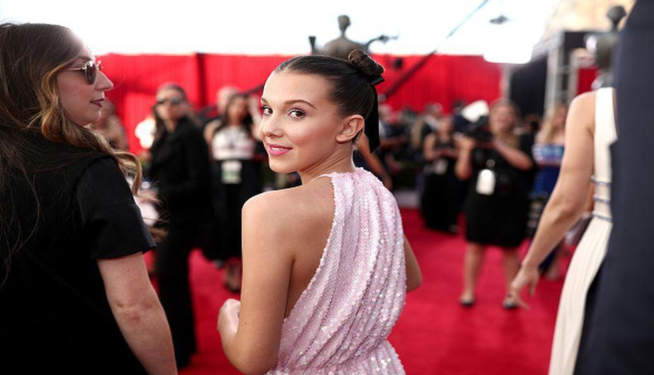 Millie Bobby Brown en los SAG Awards 2018 (Foto: Getty Images)
