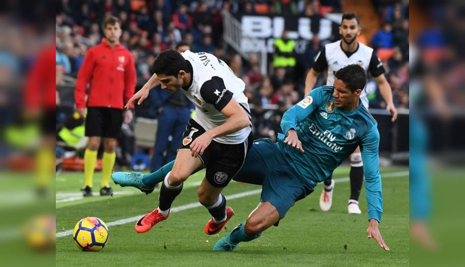 Real Madrid y Valencia jugaron un partido intenso que se definió al final. (Foto: Getty Images)