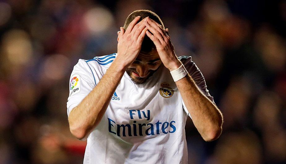 Levante le empata sobre el final al Real Madrid. (Foto: EFE)