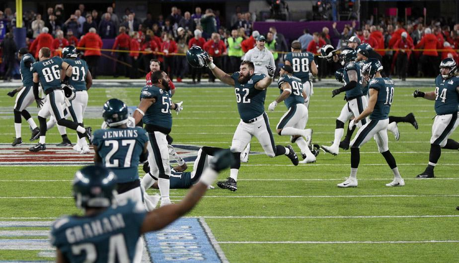 Philadelphia Eagles ganaron el Super Bowl. (Foto: EFE)