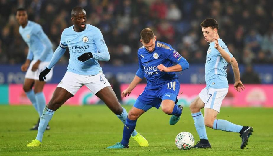 Manchester City defenderá su liderato en la Premier League ante el Leicester. (Foto: Getty Images)