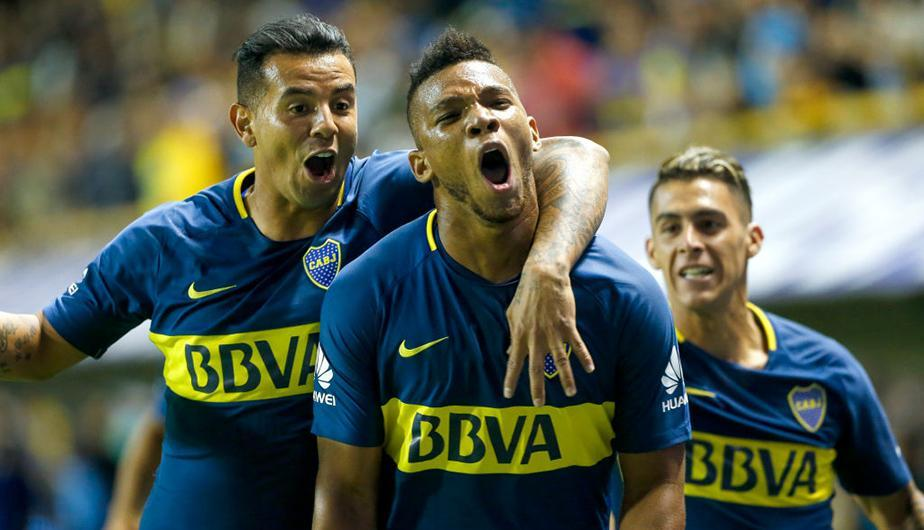 Boca Juniors vence a Temperley con gol de Fabra. (Foto: Getty Images)
