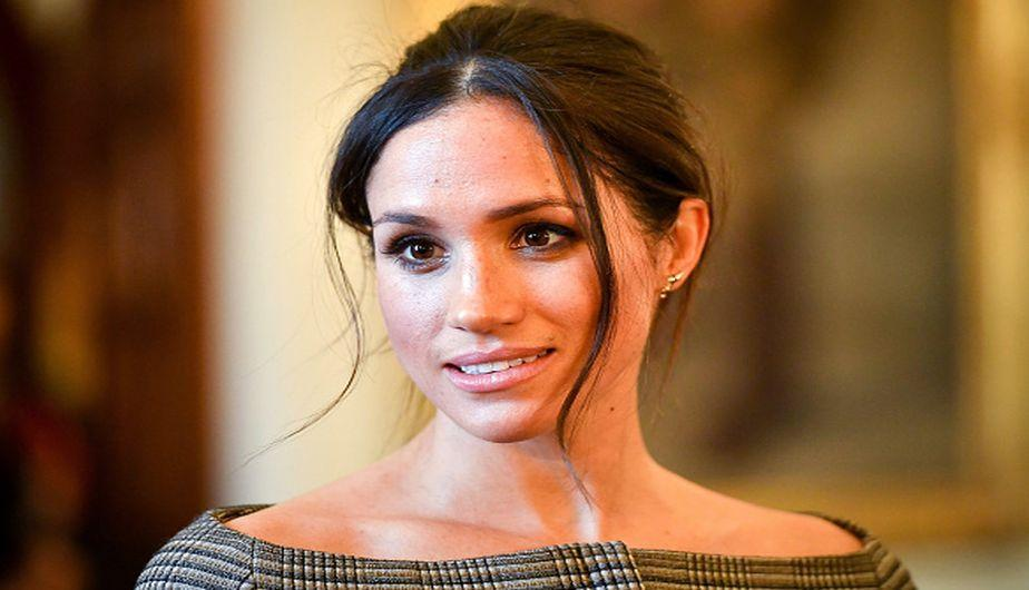 Meghan Markle luce un rostro radiante y luminoso. (Foto: Getty Images)