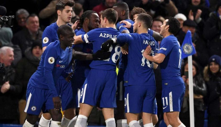 Chelsea goleó 3-0 a West Bromwich por la fecha 27 de la Premier League | Fotos: Getty Images