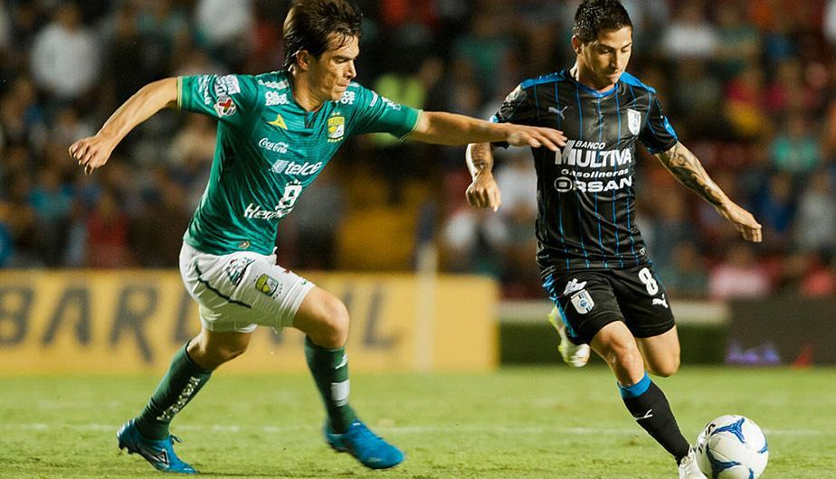 León y Querétaro empataron por la Liga MX en el estadio Nou Camp. (Foto: Getty Images)