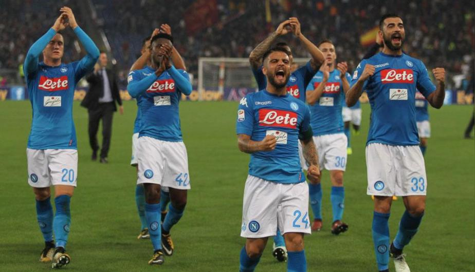Napoli vs AS Roma, Serie A fecha 27 — Partido en vivo