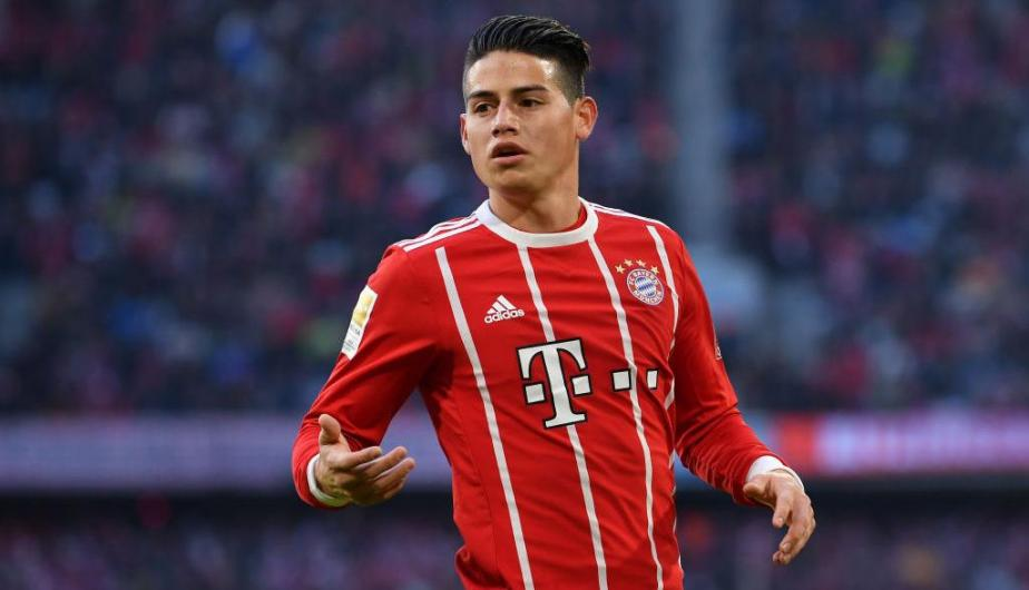 James Rodríguez podría arrancar mañana cuando el Bayern Múnich visite al Besiktas turco por la vuelta de los octavos de final de la Champions League | Fotos: Getty Images