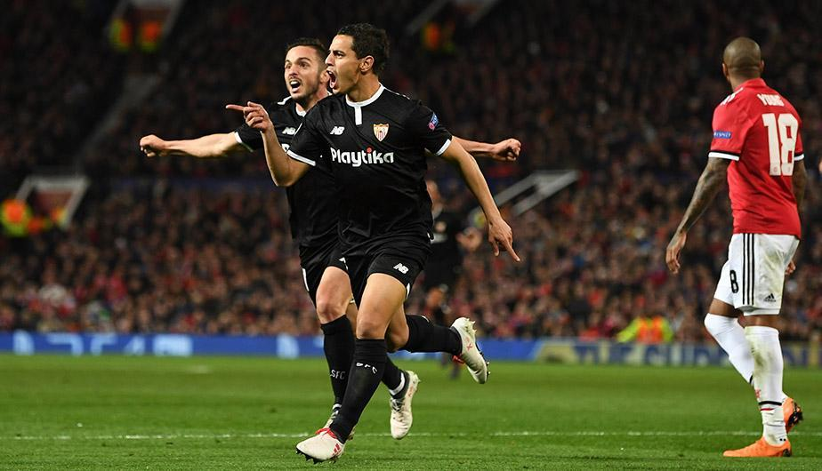 Sevilla despachó al Manchester United tras ganar por 2-1 en Old Trafford. (Foto: Getty Images)