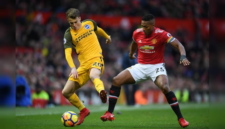 Manchester United vs Brighton jugaron desde las 14:45 horas en Old Trafford. (Foto: Getty Images)