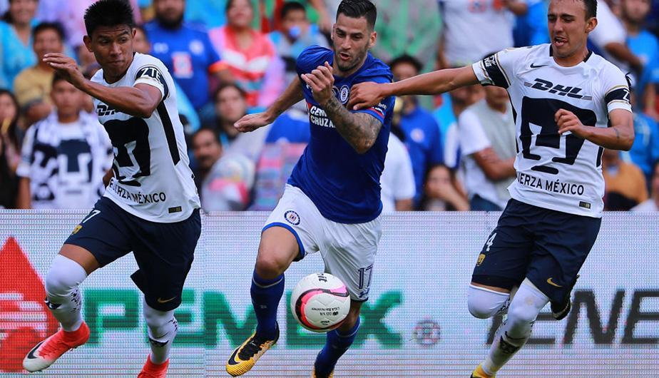 "Cruz Azul vs Pumas <span class=""caps"">UNAM</span> juegan este sábado por la Liga MX. (Foto: Getty Images)"