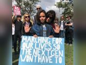 Camila Cabello, Demi Lovato y más artistas salieron a protestar en 'March for our lives'