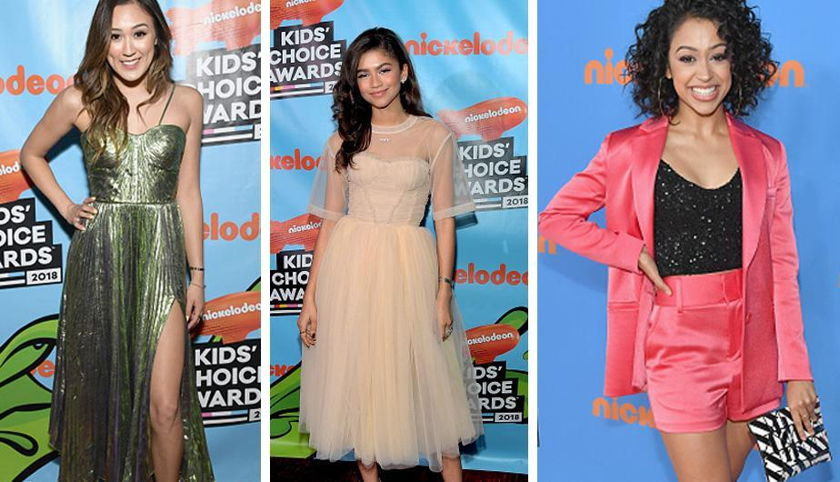 Foto 1: Diversos artistas se lucieron en los premios Nickelodeon Kids' Choice Awards 2018. ¡Entérate todo aquí! (Foto: Getty Images)