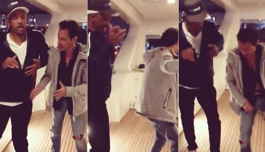 Marc Anthony le enseñó a bailar salsa a… ¡Will Smith!