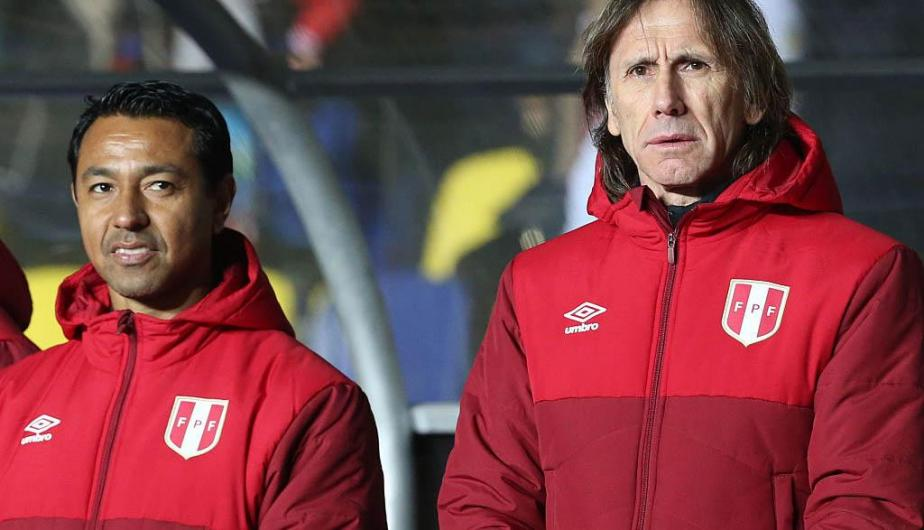 Nolberto Solano y Ricardo Gareca | Fotos: Getty Images