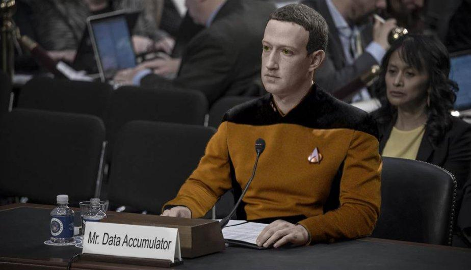 Mark Zuckerberg es comparado con robots. (Foto: Facebook)
