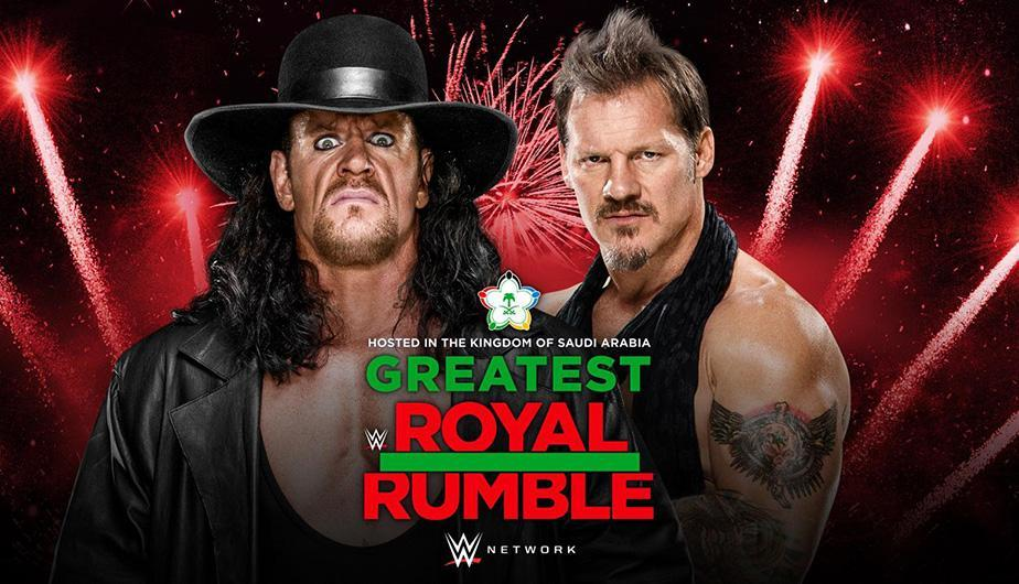 Finalmente Chris Jericho seré el rival de The Undertaker en The Greatest Royal Rumble de Arabia Saudita. (Foto: WWE)