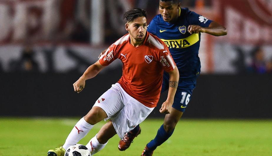 Independiente derrotó a Boca Juniors por 1-0 y puso la Superliga al rojo vivo. (Foto: Getty Images)