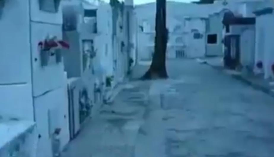 Facebook Viral: caminaba por cementerio y sucedió algo insólito. (foto: Ghost, Paranormal and Other Weird Worlds)