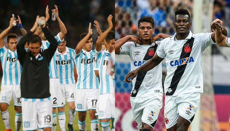 Racing Club vs Vasco da Gama juegan este jueves 19 de abril por la Copa Libertadores. (Foto: Getty Images)