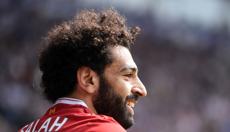 Mohamed Salah no para de anotar con Liverpool y hace historia en la Premier League. (Foto: Getty Images)