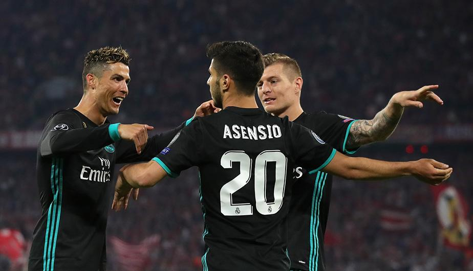 Real Madrid superó por 2-1 al Bayern Munich en la ida de semifinales de la Champions League. (Foto: Getty Images)