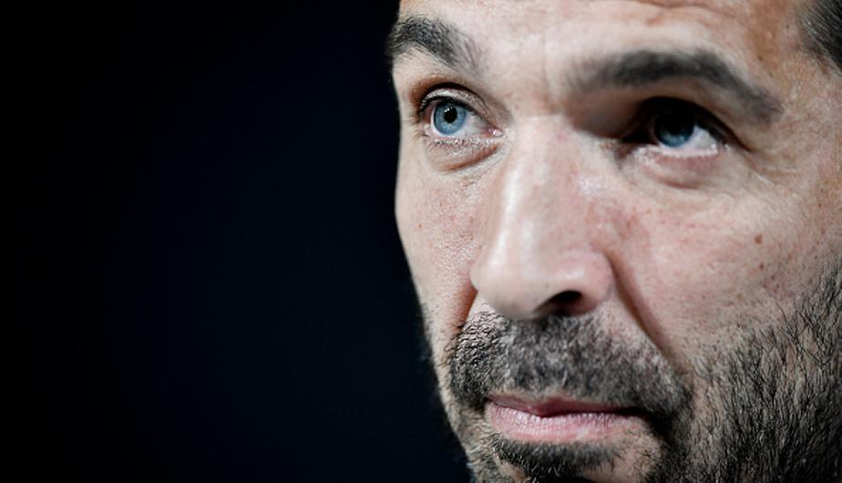 Gianluigi Buffon hizo su despido del fútbol en conferencia de prensa | Foto: Getty