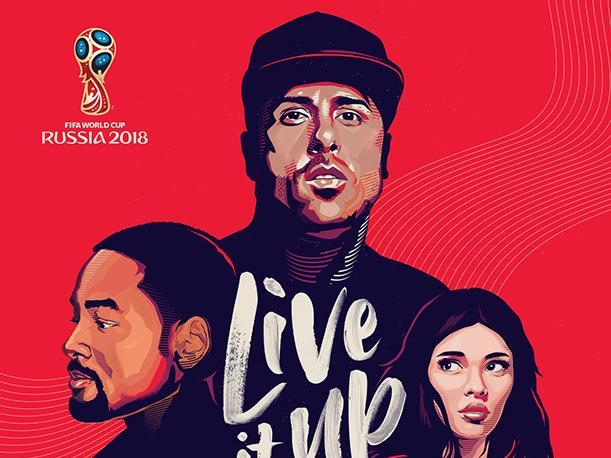 Nicky Jam, Will Smith y Era Istrefi presentan Live It Up, la canción oficial del Mundial