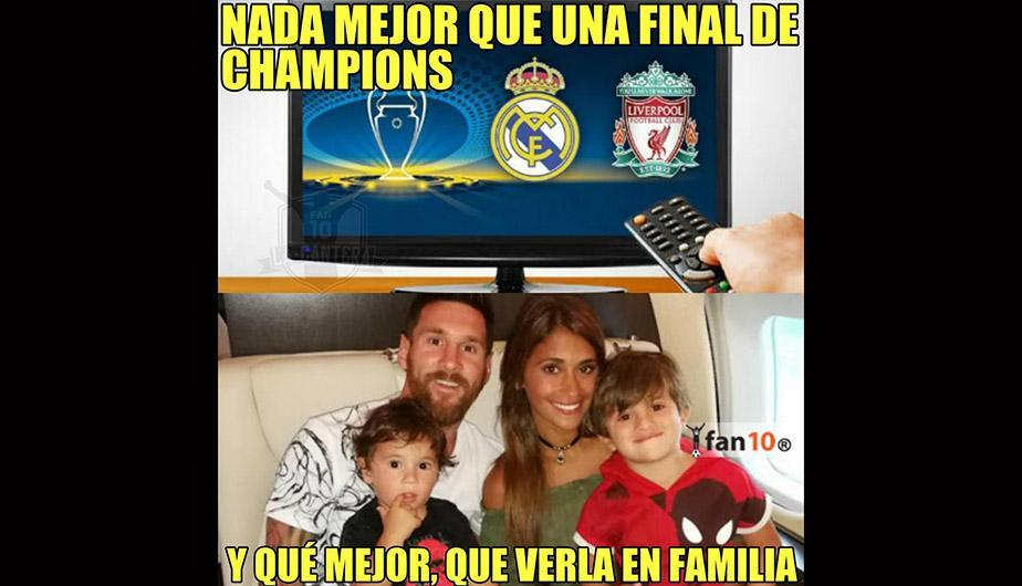 Los memes de la previa del Real Madrid vs Liverpool por la final de Champions League. (Foto: Facebook)