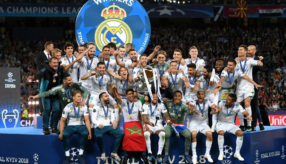 Real Madrid celebra su corona número 13 en la Champions League. (Foto: Getty Images)