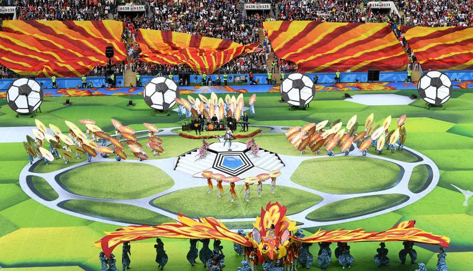 Mundial Rusia 2018 y la ceremonia inaugural. (Foto: Getty Images)