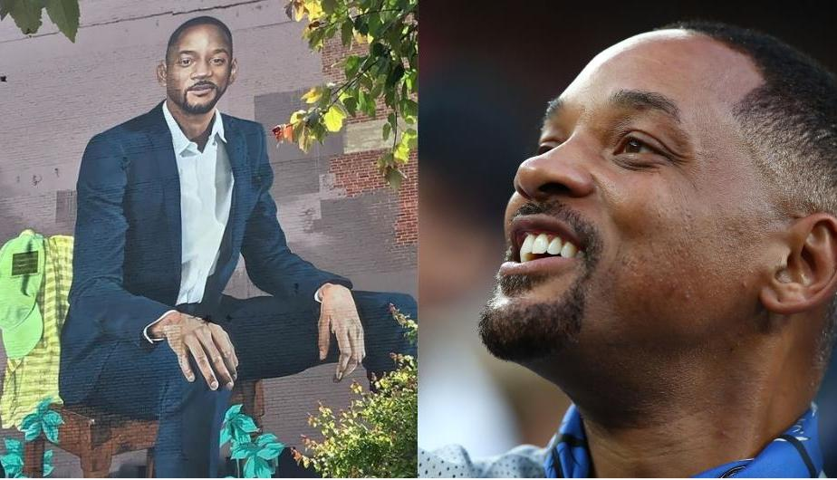 Will Smith emocionó al conocer al artista londinense Richard Wilson (Foto: Instagram)